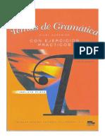 Concha Moreno. Temas de Gramática Con Ejercicios Prácticos