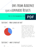 Audience Research Analysis