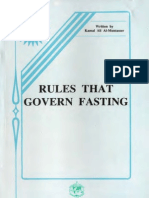 Rules That Govern Fasting