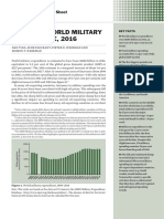 SIPRI Trends World Military Expenditure 2016