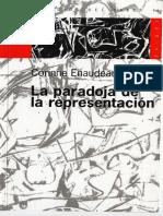 La paradoja de la representación  Corinne Enaudeau.pdf