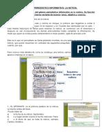 Guía 5 - La Noticia