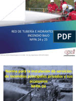 4-1-Red de Tuberia e Hidrantes Contra Incendio