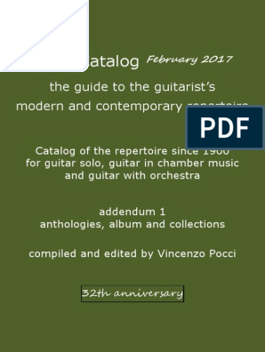 f417d77ed Pocci Catalog 32th February 2017 Anthologies | Rag-time | Blues