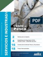 Boletin Pesca y Acuicultura ADEX FEBRERO 2016 (Data Ene-Dic 2014 2015)
