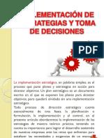 Implementación de Estrategias y Toma de Decisiones Uap