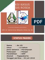 Refkas Pitryasis Rosea