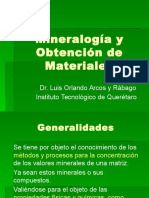 Mineralogía y Obtención de Materiales 2