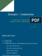 Matriz Energética - Combustión