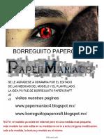 Miku BorreguiitoPapercraft PaperManiacs