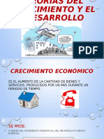 1 Teorías Del Crecimiento y El Desarrollo Económico 1