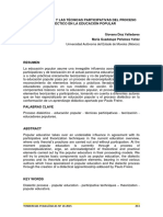 LaTeorizacion Y LasTecnicasParticipativasDelProceso