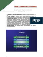 Brochure Sistema de Planillas Sueldos y Salarios SISPLAN