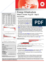 Energy Infra Weekly