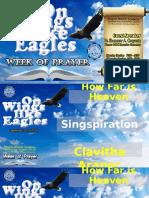 Week of Prayer Powerpoint