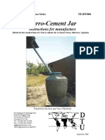 The ferrocement jar - Rainwater Harvesting