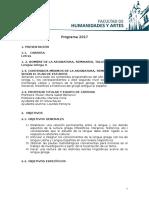 Programa de lengua griega II UNR