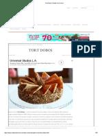 Tort Dobos _ Retete CA La Mama