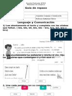 Guía de Repaso Cr , Cl, Bl y Br