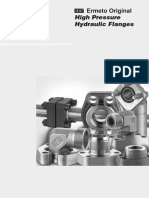 High Pressure Hydraulic Flanges