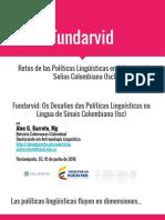 Fundarvid- Retos de las Políticas Lingüísticas (2)
