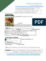 MLA Encyclopedia