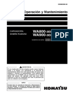 O&M WA800,900-3E0 70019,60023 up GSN00300-00