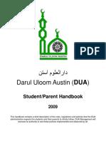 Dua Handbook 2009