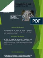 PRINCIPIOS FUNDAMENTALES QUE RIGEN EN LA CIRCULACIÓN