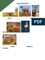 Fauna y Flora Zona Norte