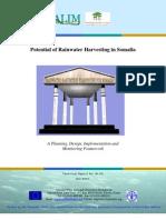 Potential of Rainwater Harvesting in Somalia