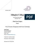 WLAN Security Management With Precise Positioning-FYP-Sajjan Bhattarai-11069720