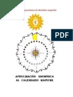 Aproximación Gnomónica Al Calendario Mapuche