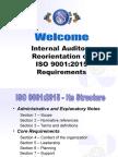 ISO 9001 2015 - Internal Audit