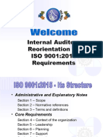 ISO 9001 2015 - Internal Audit