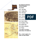 Dungeon Magazine the Shackled City Adventure Path and Campaign