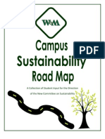 Campus Sustainability - A Road Map