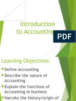 Topic 1 - Accounting