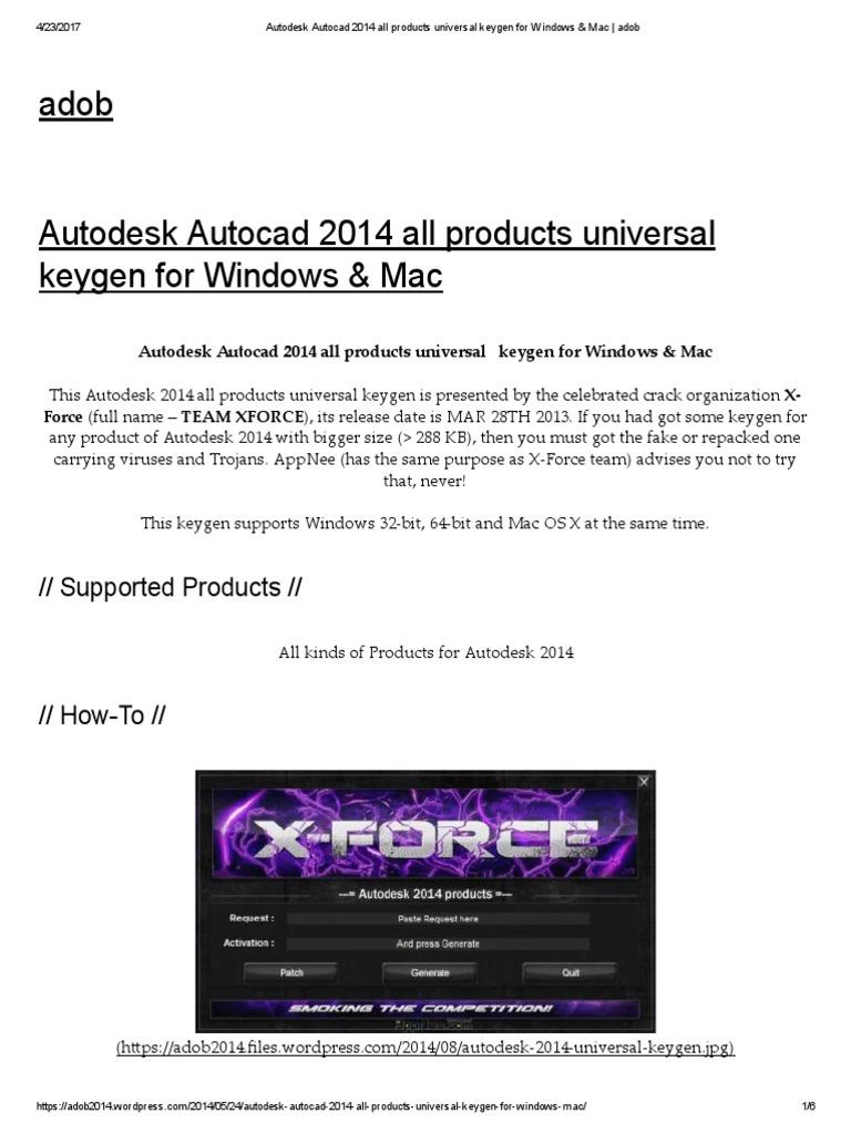 Autocad Keygen 2014 Autocad 2014 Free Download Full