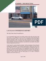 Las Olas Conference Report by David Arthur Walters