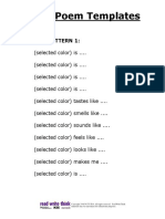colorpoemtemplates