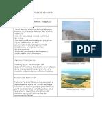 Unidades Fisiograficas de La Costa Sierra y Selva u.u''