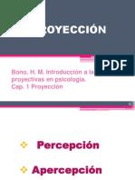 Bono y Rabin - Proyección, en técnicas proyectivas