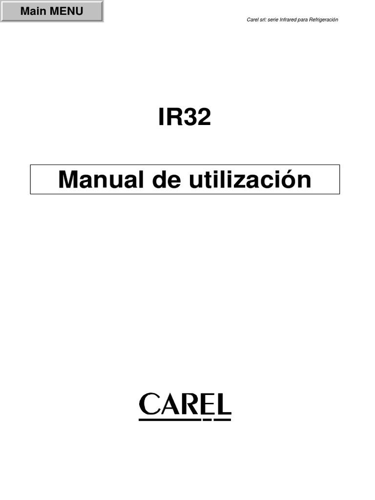 carel ir32 инструкция
