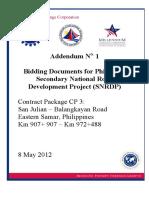 ADDENDUM 1 - CP3 2012-05-08