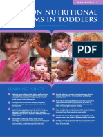 4.1 - Common Nutritional Problems in Toddlers