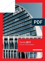 Tarifa Rockwool 2017