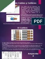 Tipos de Cables y Calibres
