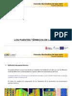 Conclimat - Puentes termicos