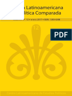 Vol 12, Revista Lat. de Politica Comparada, Enero 2017 (1)